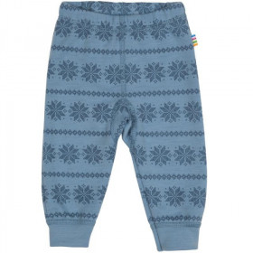 Colanti Joha din lână merinos -Snowflake Blue