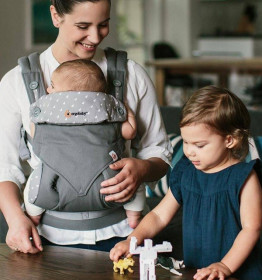 Ergobaby 360 Carrier 4 pozitii - DEWY GREY