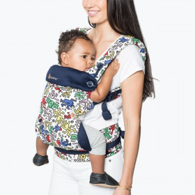 Ergobaby Carrier 4 pozitii 360 - KEITH HARING POP