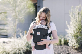 ERGOBABY Carrier Original Adapt GRAPHIC GREY  0 luni+