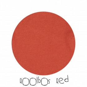 Hoodie ManyMonths lână merinos - Rooibos Red