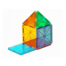 Magna-Tiles Clear Colors set magnetic (32 piese)