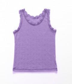 Maiou Joha lână merinos si matase - Basic Purple