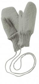 Manusi Disana lână organica boiled wool (lana fiarta) - Grey