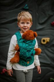 Marsupiu de jucarie pentru copii, Lennylamb, Under The Leaves