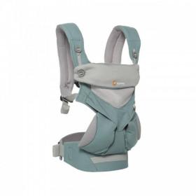 Marsupiu ergonomic,ERGOBABY 360 Cool AirMesh, ICY MINT