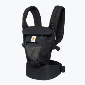 Marsupiu ergonomic, Ergobaby Adapt Cool Air Mesh, Onyx Black