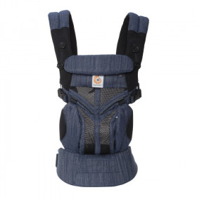 Marsupiu ergonomic portbebe ,,Ergobaby Omni 360 Cool Air Mesh Indigo Weave