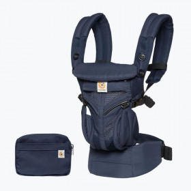 Marsupiu ergonomic, Ergobaby OMNI 360 COOL AIR MESH, MIDNIGHT BLUE