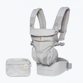 Marsupiu ergonomic, Ergobaby Omni 360 Cool Air Mesh, Pearl Grey