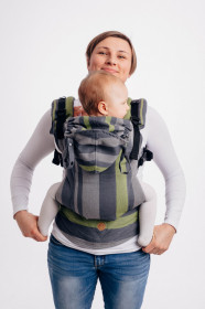 Marsupiu ergonomic LennyGo Toddler, Smoky Lime