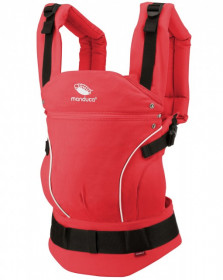 Marsupiu Ergonomic, Manduca First, PureCotton CoralRed