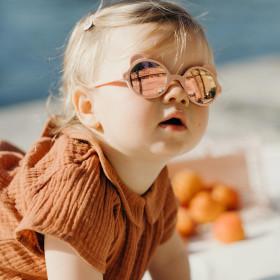 Ochelari de soare Ki ET LA ,2-4 ani - Ourson Cream