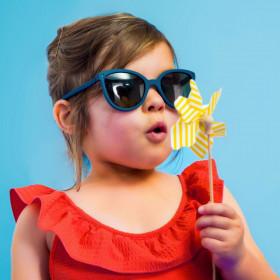 Ochelari de soare Ki ET LA ,4-6 ani -Butterfly Denim