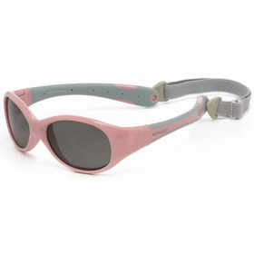 Ochelari de soare KOOLSUN, 3-6 ani - Flex - Cameo Pink Grey