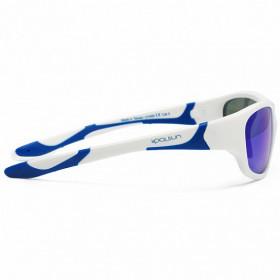 Ochelari de soare KOOLSUN, 3-8 ani - Sport- White Royal Blue