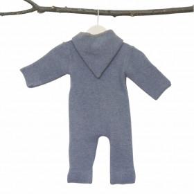 Overall din lână fiartă cu mănuși și botoșei, Stapf - Smoke Blue
