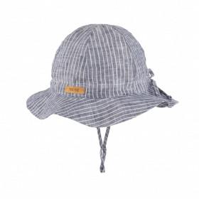Pălărie ajustabilă Light Pure Pure din in - Marine