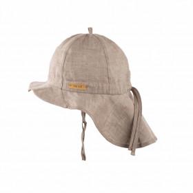 Pălărie ajustabilă Pure Pure din in - Moon Rock