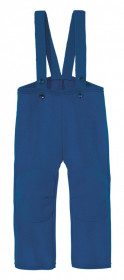 Pantaloni din lână fiartă Disana - Navy