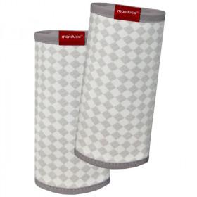 Protecții bretele - Manduca FumBee BellyButton SoftCheck Grey