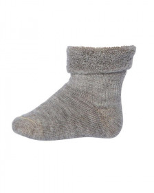 Sosete groase mp Denmark din lână Wool Terry - Light Brown