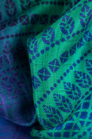 Swaddle Wrap Peacock's Tail Fantasy , Lennylamb