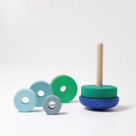 jucarie-lemn-bebelusi-turn-albastru-grimms
