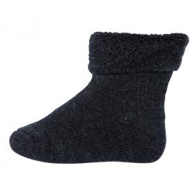 Sosete groase mp Denmark lână Wool Terry - Dark Grey