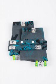Protectii bretele Lennylamb, Wawa - Grey&Blue