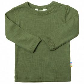 Bluza Joha lână merinos si matase - Green