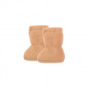 Botosei din lână merinos fleece Pure Pure - Dusty Apricot