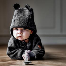 Căciulă lână fiarta boiled wool Mikk-line - Grey Melange