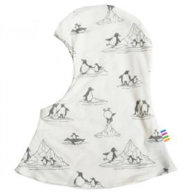 Cagula dublata reversibila Joha lână si mătase - Penguins