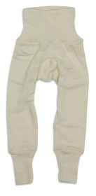 Cei mai comozi pantaloni din lana si matase organica, Cosilana - natur