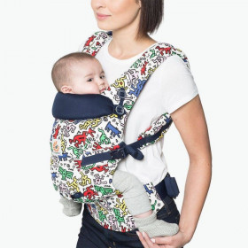 ERGOBABY Carrier Original Adapt KEITH HARING POP 0 luni+ (editie speciala)