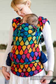 LennyLamb Baby Size, Full Wrap Conversion - JOYFUL TIME (Second Generation)