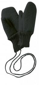 Manusi Disana lână organica boiled wool (lana fiarta) - Anthracite