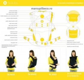 Marsupiu ergonomic,Beco Solei, Arrow