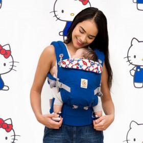Marsupiu ergonomic, portbebe ,ERGOBABY Adapt, Hello Kitty Classic