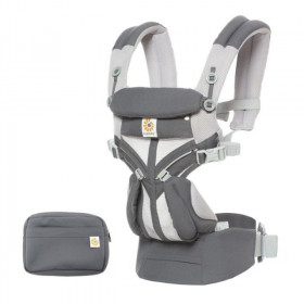 Marsupiu ergonomic, portbebe ,Ergobaby Omni 360 Cool Air Mesh Carbon Grey