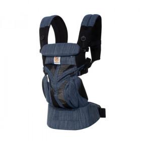 Marsupiu ergonomic,Ergobaby Omni 360 Cool Air Mesh Indigo Weave