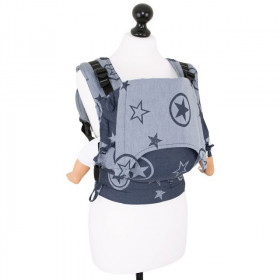 Marsupiu Ergonomic, Fidella Fusion Baby Wrap Conversion, Outer Space Blue
