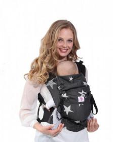 Marsupiu ergonomic, portbebe ,Kokadi Toddler wrap conversion, Diorite Stars