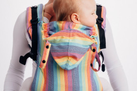 Marsupiu ergonomic, portbebe, LennyGo Toddler, Luna - Full Wrap Conversion