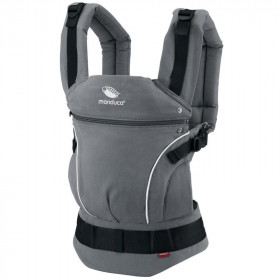 Marsupiu Ergonomic, Manduca First, PureCotton DarkGrey