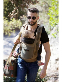 Marsupiu SSC Physio Carrier - Safar Pocket Dark Olive