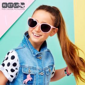 Ochelari de soare Ki ET LA ,6-9 ani Butterfly Pink