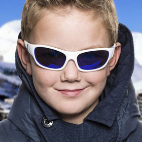Ochelari de soare KOOLSUN, 3-8 ani - Sport- White Navy