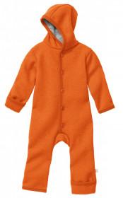 Overall din lână fiartă Disana - Orange